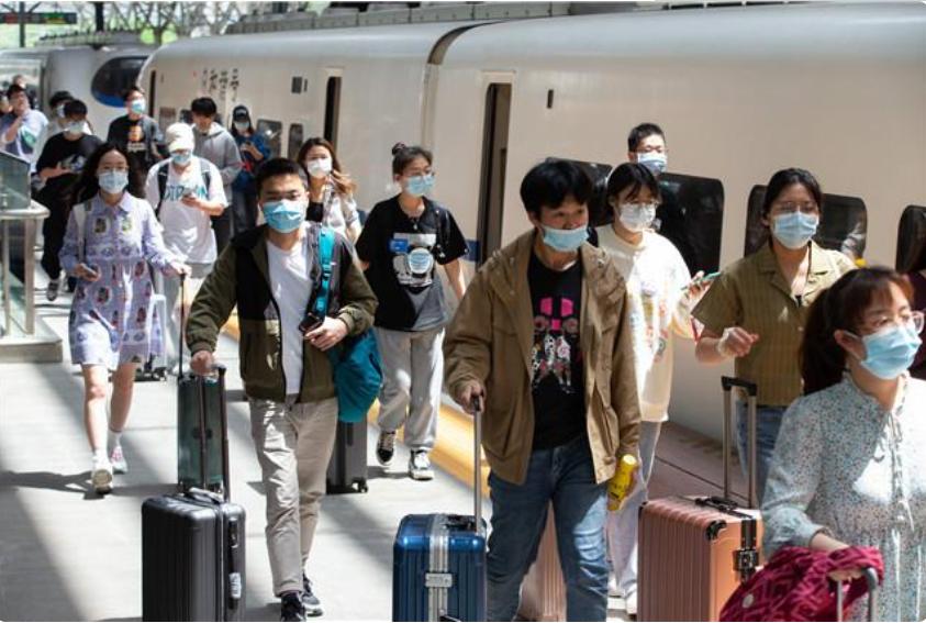 五一假期最后一天,长三角铁路预计迎来返程客流350万人