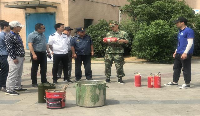 盛江社区新时代文明实践丨防风险 除隐患 遏事故