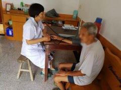 新时代文明实践丨鹤龄社区免费体检送上门 精准服务残疾人