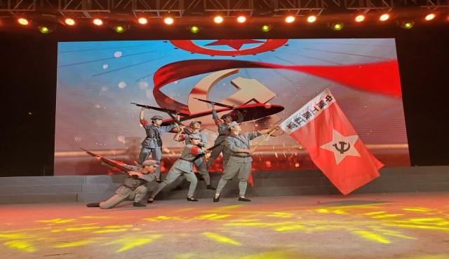 吉山社区庆祝新中国成立70周年文艺汇演