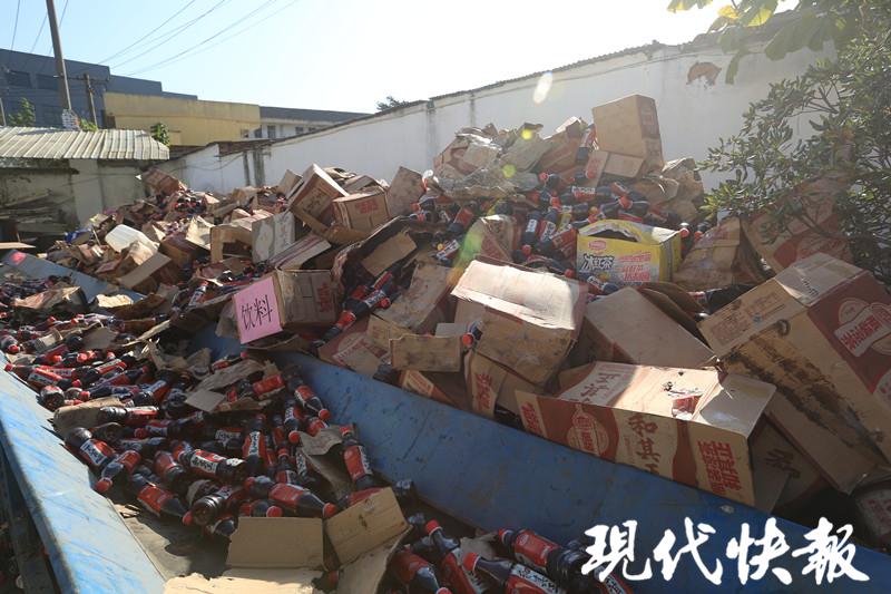 江苏公开销毁53.9吨违法食品 货值超650万元