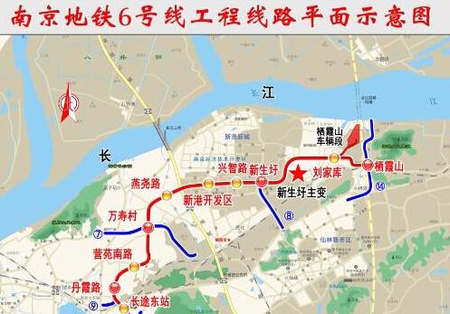 南京地铁6号线初步设计获批!