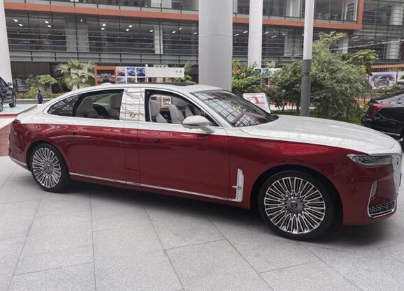 被央视曝光的红旗H9+有望亮相北京车展