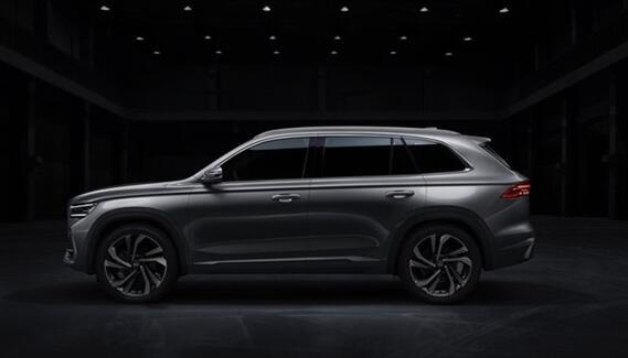 吉利旗舰SUV KX11实车曝光 沃尔沃同平台