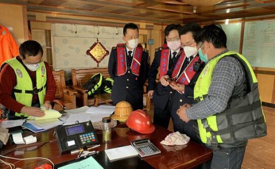 江苏严厉打击内河船涉海运输违法行为