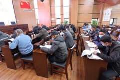 龙尚村:冬训学习聚能量 凝心聚力促发展
