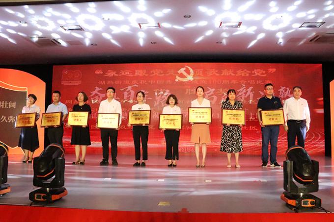 江宁湖熟街道庆祝中国共产党成立100周年主题党日活动