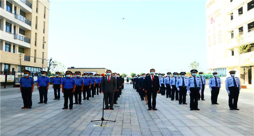 升旗!敬礼!庆祝中华人民共和国成立72周年!